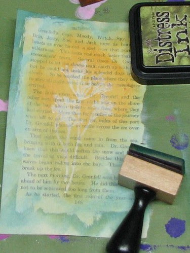 Gesso Stamping011
