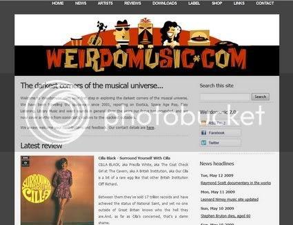 Weirdomusic.com 2009