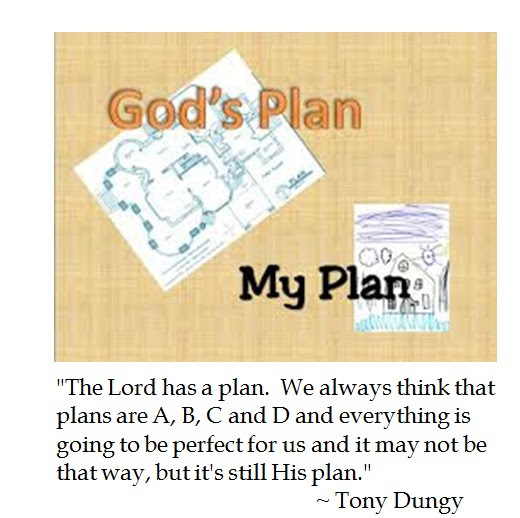 Tony Dungy Lord's Plan