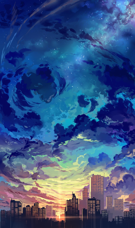 Theme Anime Aesthetic Anime Background Scenery