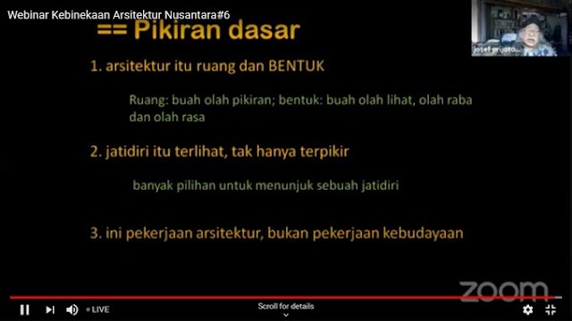 Arsitektur Nusantara Mengkini dan Menanti