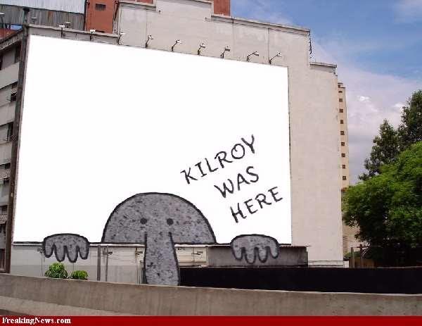 Shangrala's Kilroy Was Here
