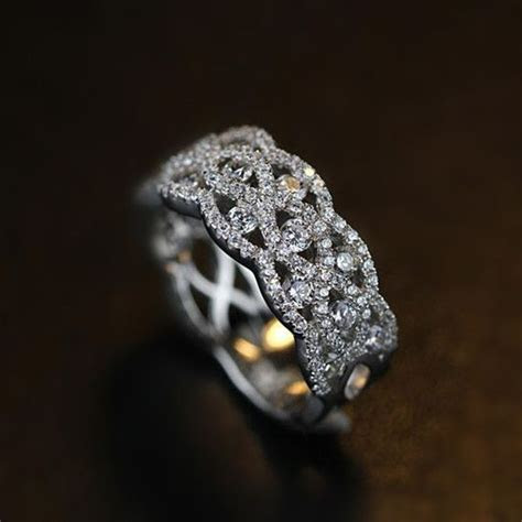Breathtaking Bling Bling Vintage Art Deco Cubic Zirconia