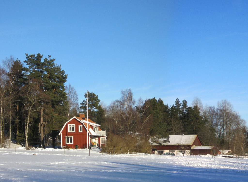 Winter at Ängshagen