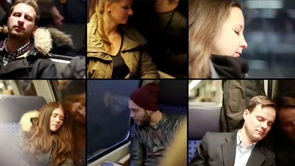 La campaña que busca enviar publicidades a personas que están durmiendo.