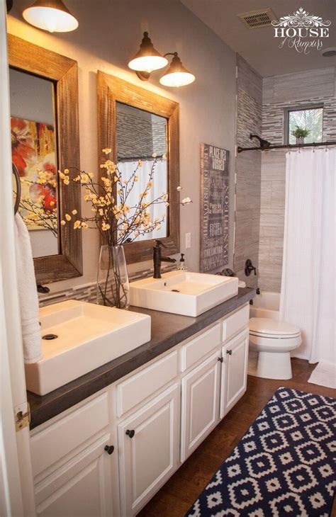 farmhouse bathroom design  decor ideas