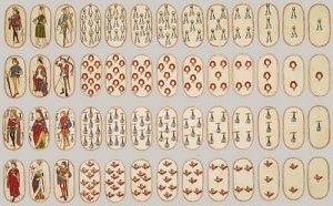 52 playing cards ca1475 Burgundian metmuseum heilbrunn timeline
