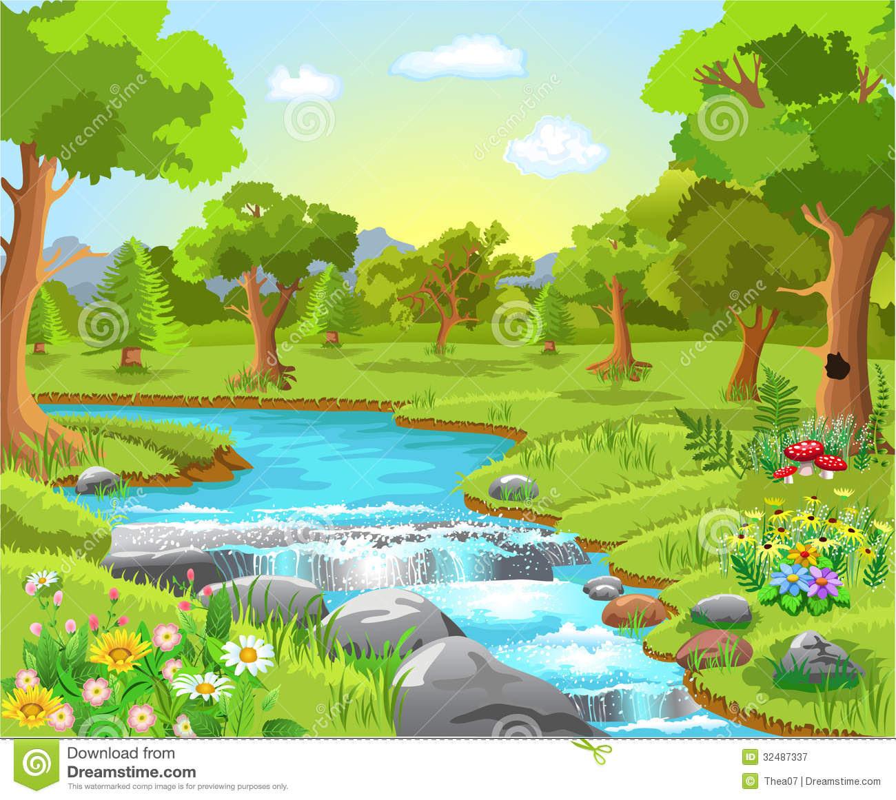 spring water clip art_111591