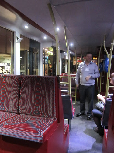 Inside the new London Bus