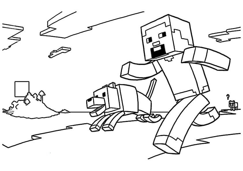 minecraft ausmalbilder minecraft bilder zum ausdrucken