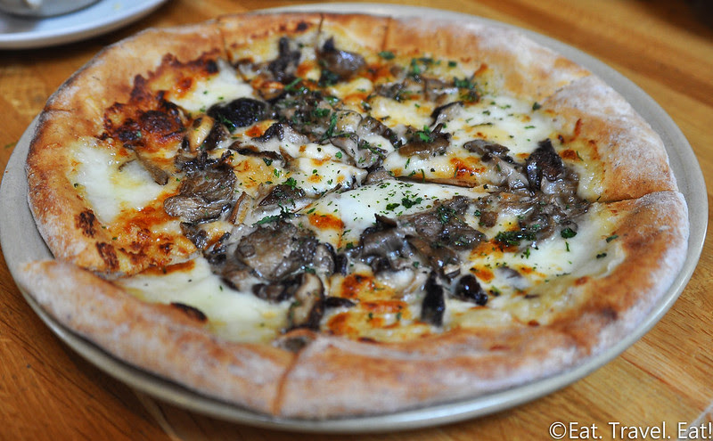 True Food Kitchen- Newport Beach, CA: Wild Mushroom Pizza
