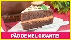 Receita - O melhor pão de mel do mundo é o meu bolo de aniversário! muito fácil   receitas de minuto 545