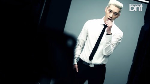 Sweetheart 2pm S Chansung Rocks His Platinum Blonde Hair In Bts Video For International Bnt
