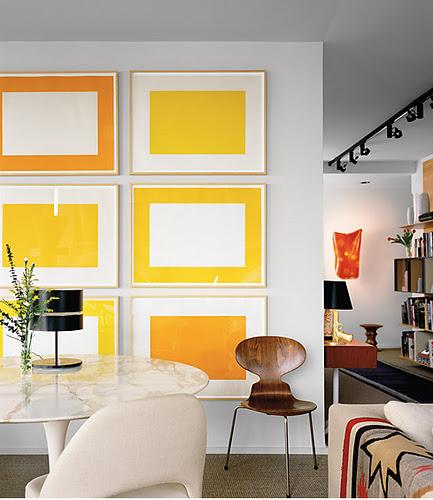 Yellow Art work