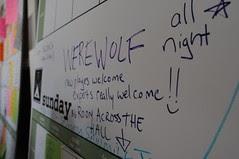 Avant Game: Memories of a Dead Seer: Werewolf at Foocamp08!