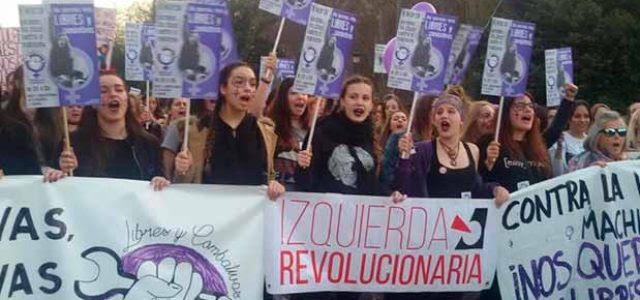 Estado Español – El sistema responde a la lucha feminista de masas. Su moral y la nuestra