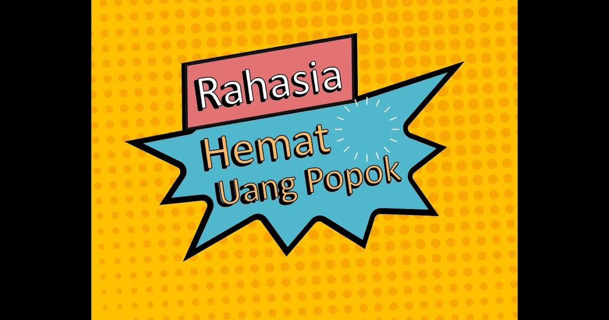 Poster Hemat Uang   Contoh Poster
