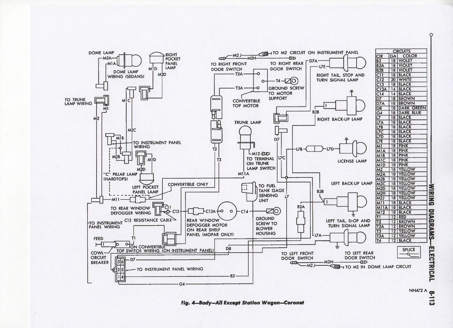Diagram 1968 Coronet Wiring Diagram Full Version Hd Quality Wiring Diagram Goldwiring18 Newsetvlucera It