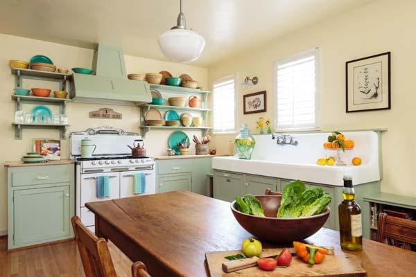 Retro kitchen ideas | Ideal Home