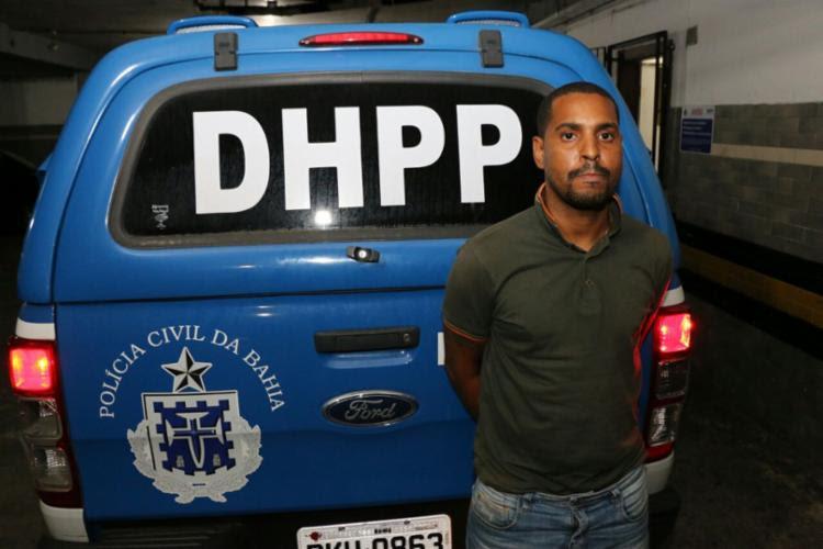 Suspeito tinha mandado de prisão pela morte de um PM em 2016 - Foto: Divulgação | SSP-BA