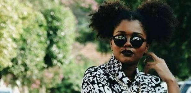 Angela Batista, 22 anos, ativista da causa negra