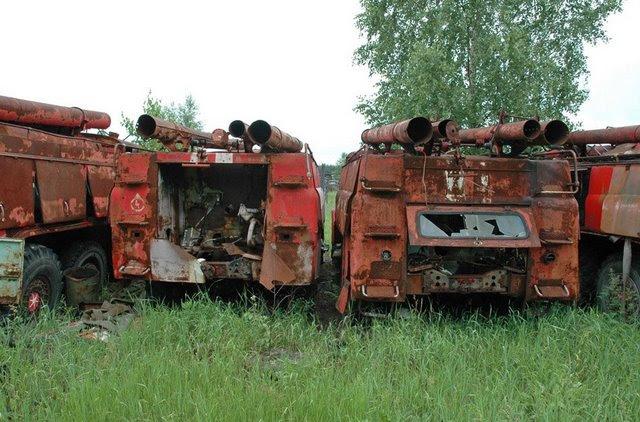 Abandoned Russian army scrap metal 12
