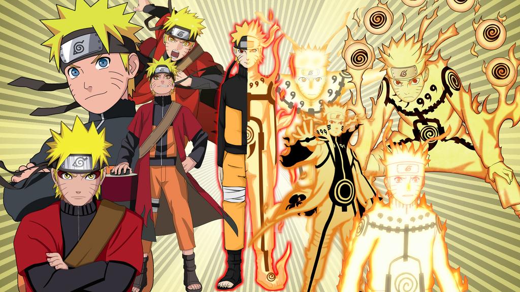 Naruto Bijuu Mode Wallpaper By Dragonballkc On Deviantart
