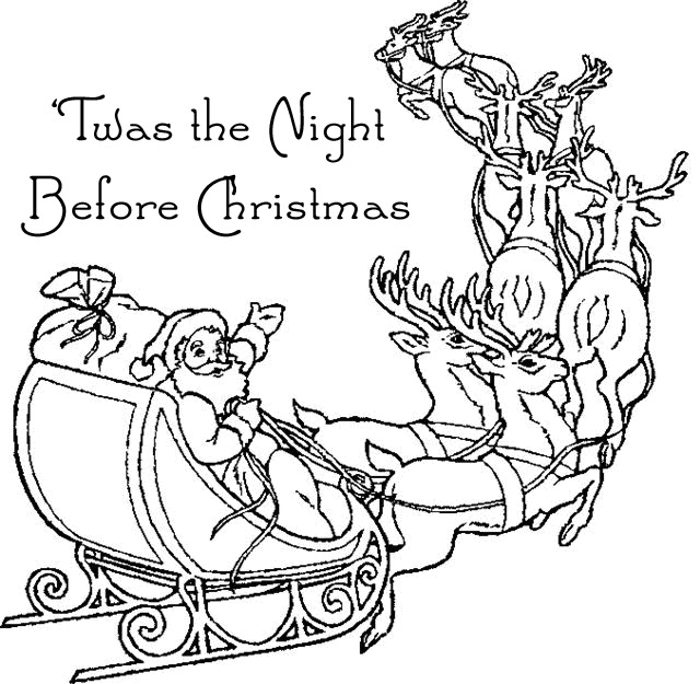 'Twas the Night Before Christmas Grammar Practice Book ...