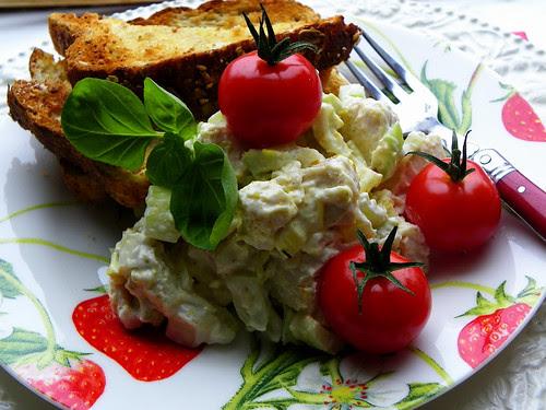 Tomatoes: 10, Chicken Salad: 0