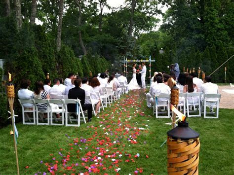Long Island Wedding Catering   catering backyard and off