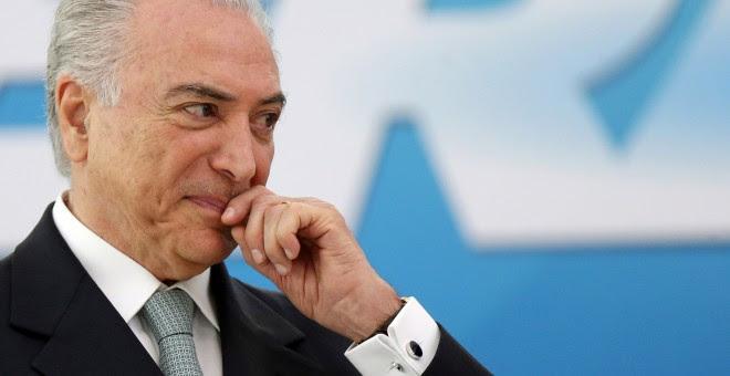 El presidente de Brasil, Michel Temer. - REUTERS