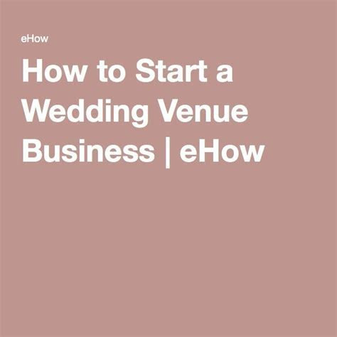 How to Start a Wedding Venue Business   Wedding Venue