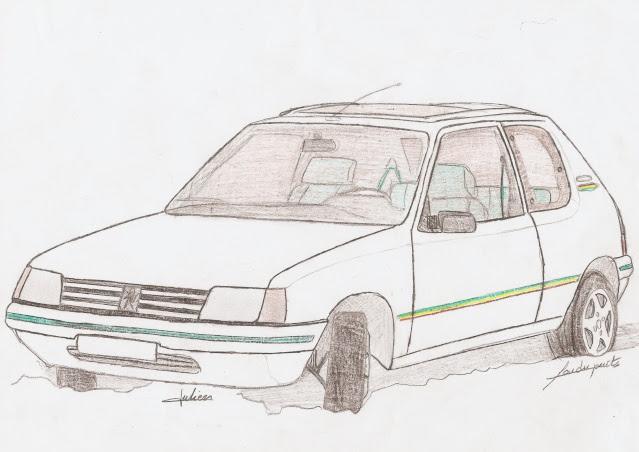 Meilleure Nouvelle Dessin 205 Peugeot - The Vegen Princess