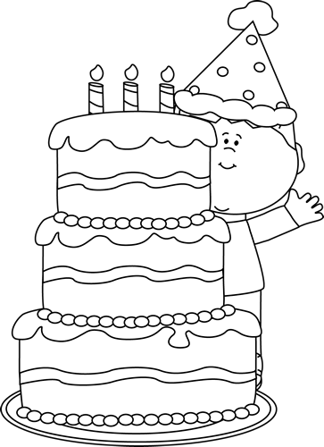 Cake Black And White Slice Of Cake Clipart Black And White
