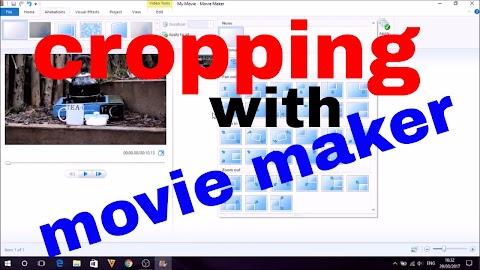 Windows Movie Maker Crop Video