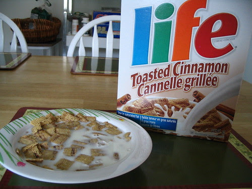 Life Toasted Cinnamon Cereal