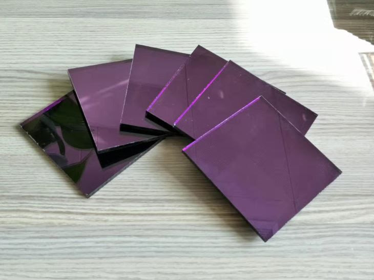 China Customized Purple Mirror Wall Decor Manufacturers Wholesale Cheap Purple Mirror Wall Decor Jining
