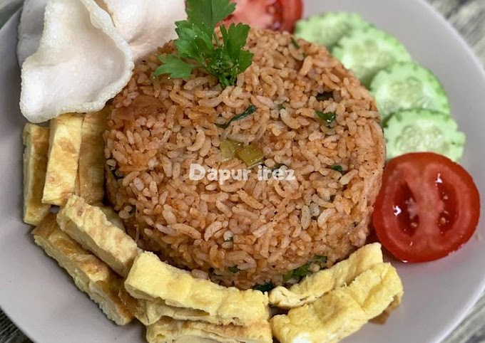 Resep Nasi goreng bumbu spesial ala dapur irez Anti Gagal