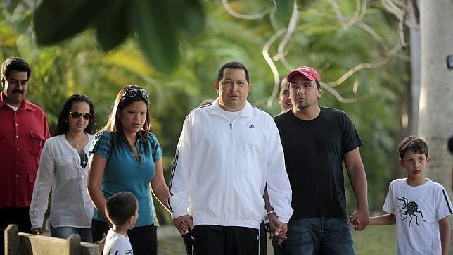 Chávez viaja de regreso a Venezuela tras su convalecencia a Cuba