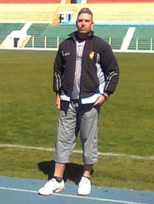 Victor Zwenger - técnico do Real Potosí (Foto: Arquivo Pessoal)