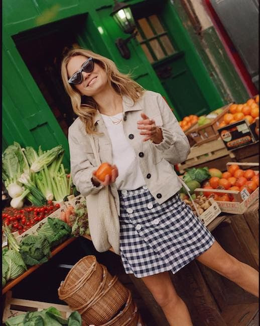 Le Fashion Blog Lucy Williams 15 Gingham Printed Pieces To Shop This Spring Via @Lucywilliams02