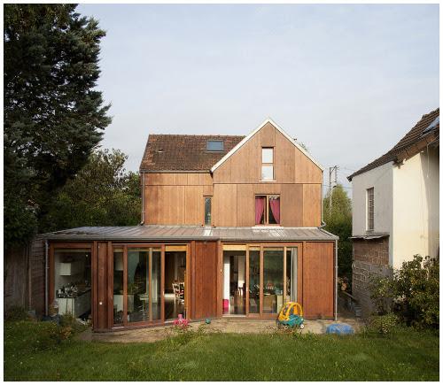 subtilitas:  Boidot & Robin Architectes-Family house, Gif-sur-Yvette 2012. Photos (C)Clement Guillaume.
