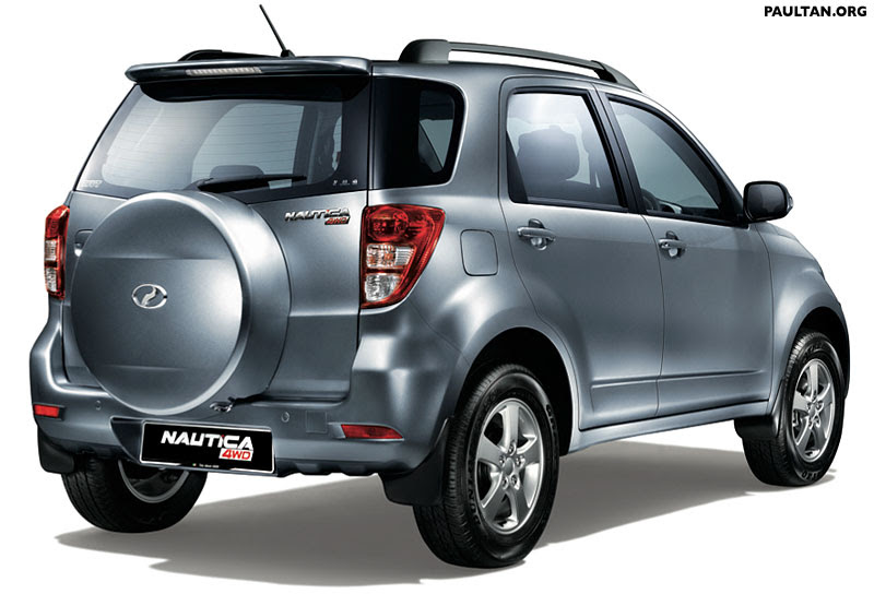 Perodua Nautica 4WD: Specifications and Photos