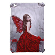 Winter Rose Fairy iPad Mini Case
