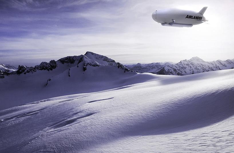 Airlander 50 Snow CGI
