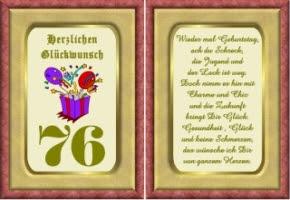 Lustige Geburtstag Wünsche 76 Jahre Kostenlos Ausdrucken
