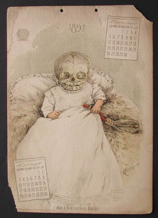 antikamnia medical calendar 1897