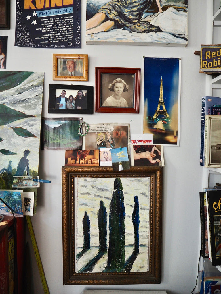 Max Thomson Studio Visit Tessuti