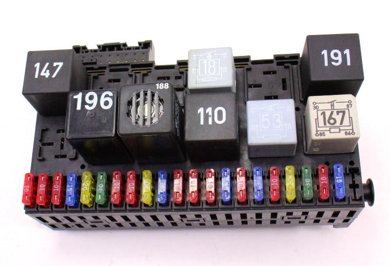 audi b5 fuse box location image 8