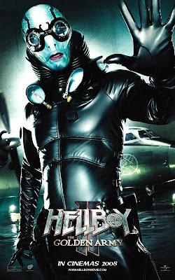 Hellboy II - Abe Sapien movie poster